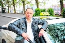 Marco Bark von der Interessengemeinschaft der Taxifahrer. Foto: Christina Kuhaupt