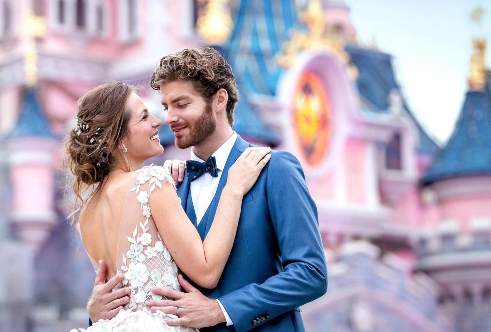Mariage de rêve chez Disney