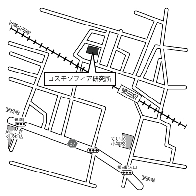 コスモソフィア研究所 地図