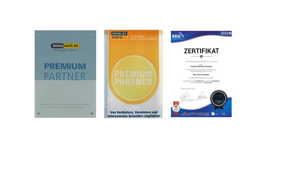 Unternehmen: Auszeichnungen & Zertifikate