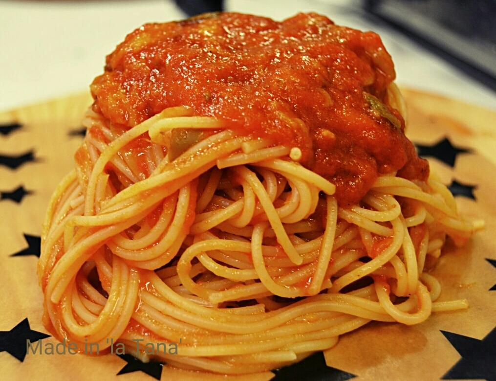 Spaghetti pommarola