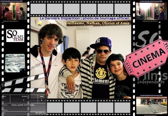 Guillaume Contival, Nathan Lagrange, Olivier Vidal et Amir Ben Abdelmoumen