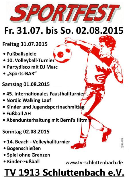 Sportfest 2015 TV 1913 Schluttenbach