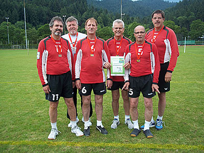Senioren Faustball Schluttenbach