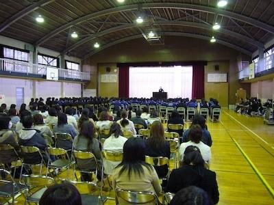 郡山市喜久田中学校講演会