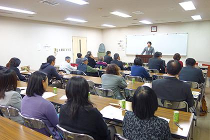 福島市矢野目小学校保護者講演会
