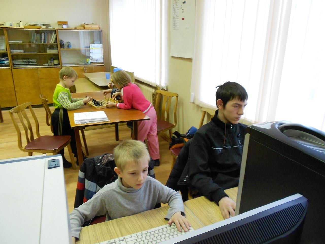 Киреев Савелий (1 класс), Цветков Никандр (1 курс Северного колледжа)
