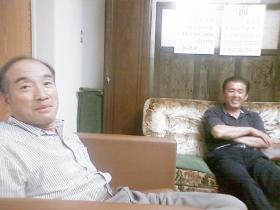 金津中学校同窓会の広報委員会の集まり