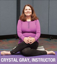Crystal Gray, Yoga Instructor