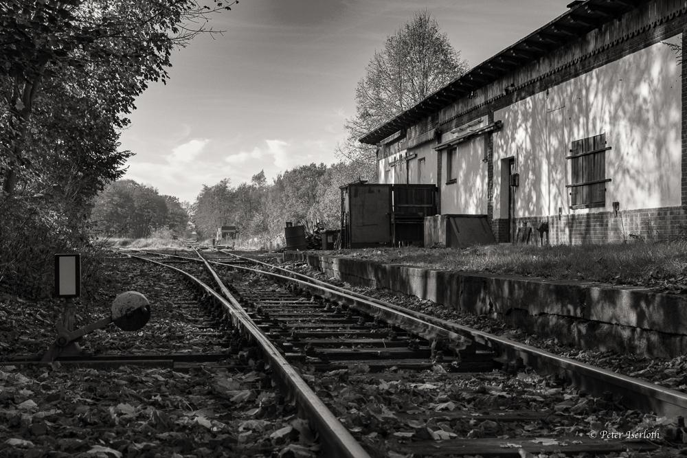 Alter Glinde Bahnhof -Schleswig Holstein- Germany