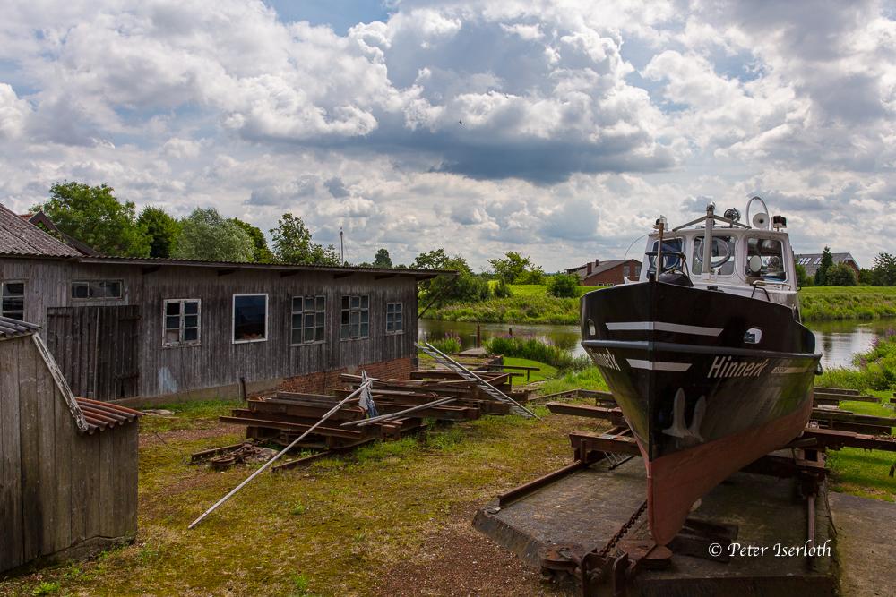 Kleine Werft, Lühe, Deutschland