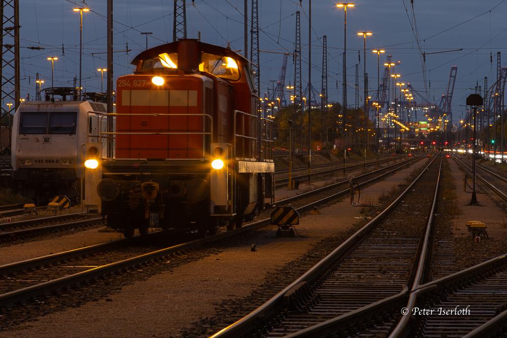 Hafenbahnhof Hamburg Süd, Hamburg, Deutschland