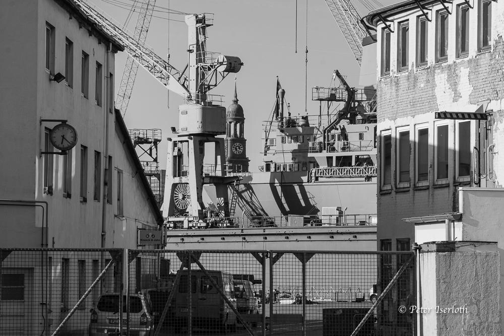 Werft und Michel - Hamburg - Germany