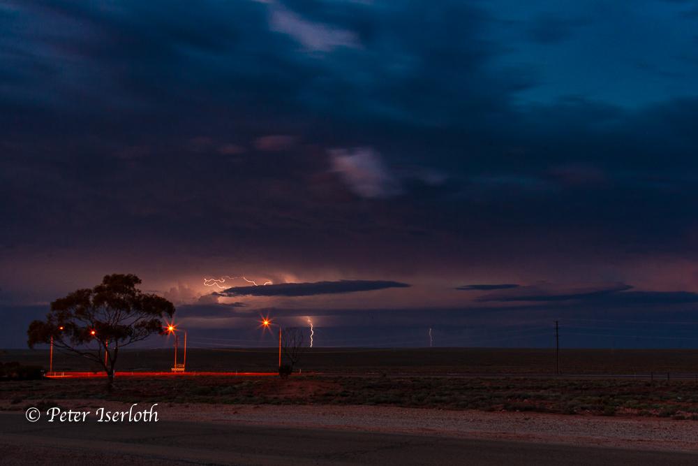 Wetterleuten im Outback