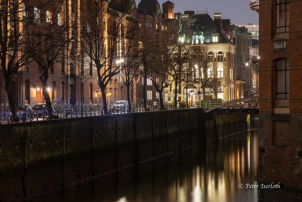 Wasserschloss, Speicherstadt, Hamburg, Deutschland