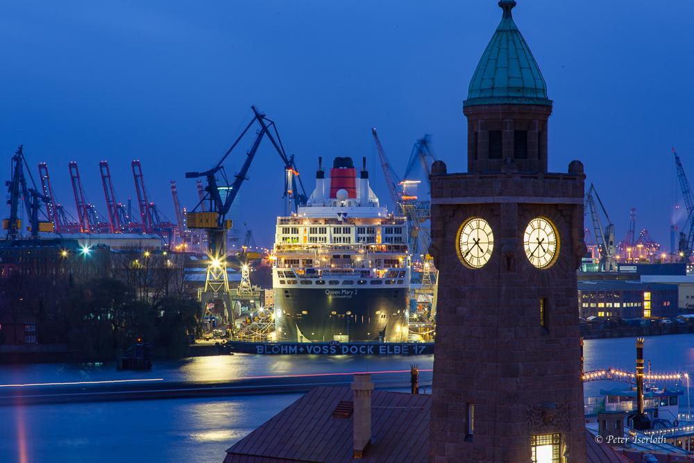 Dock Elbe 17, Hamburg, Deutschland
