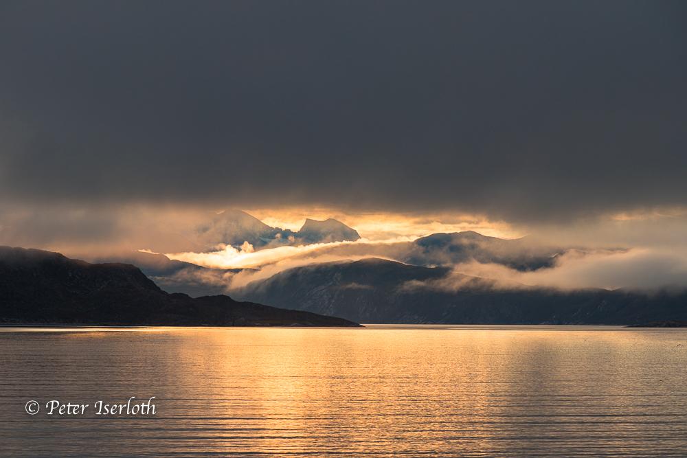 Lichtspiele vor Grönland