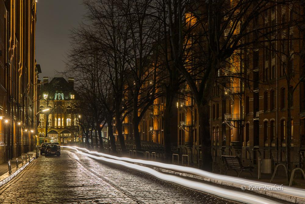 Speicherstadt mit Wasserschloss, Hamburg, Deutschland