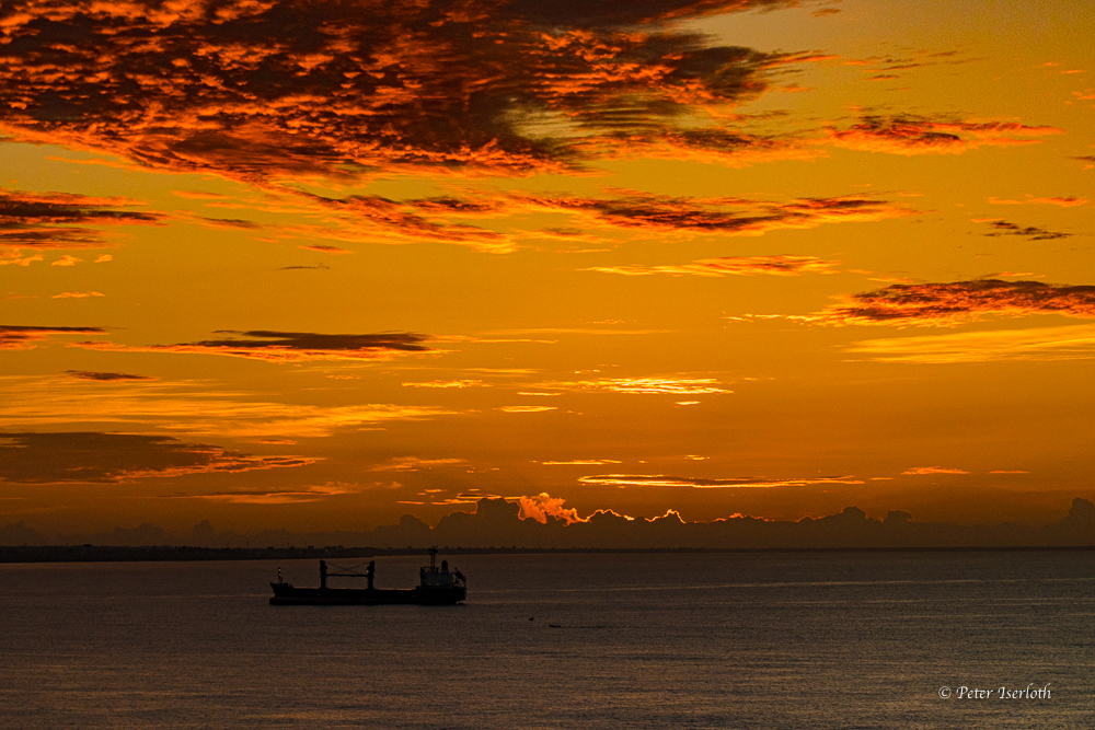 Sonnenaufgang von Santo Domingo