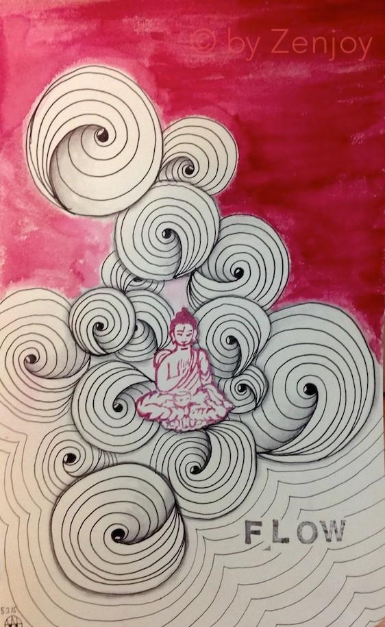 spoolies zenjoy kurse welt der muster zeichne dich in deine mitte - Zentangle Muster