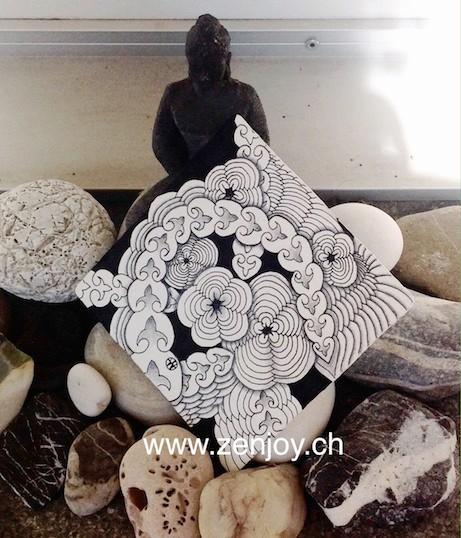 Tamy & Tizzy Zentangle Patterns by Zenjoy