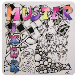 Der Muster Mixer - European Zentangle® Challenge