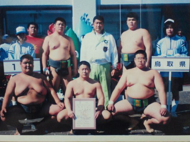 平成11年 国民体育大会初優勝(熊本県)