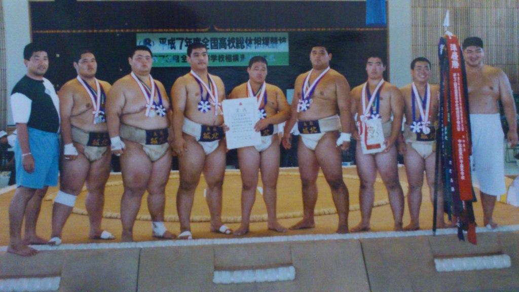 平成7年 インターハイ準優勝