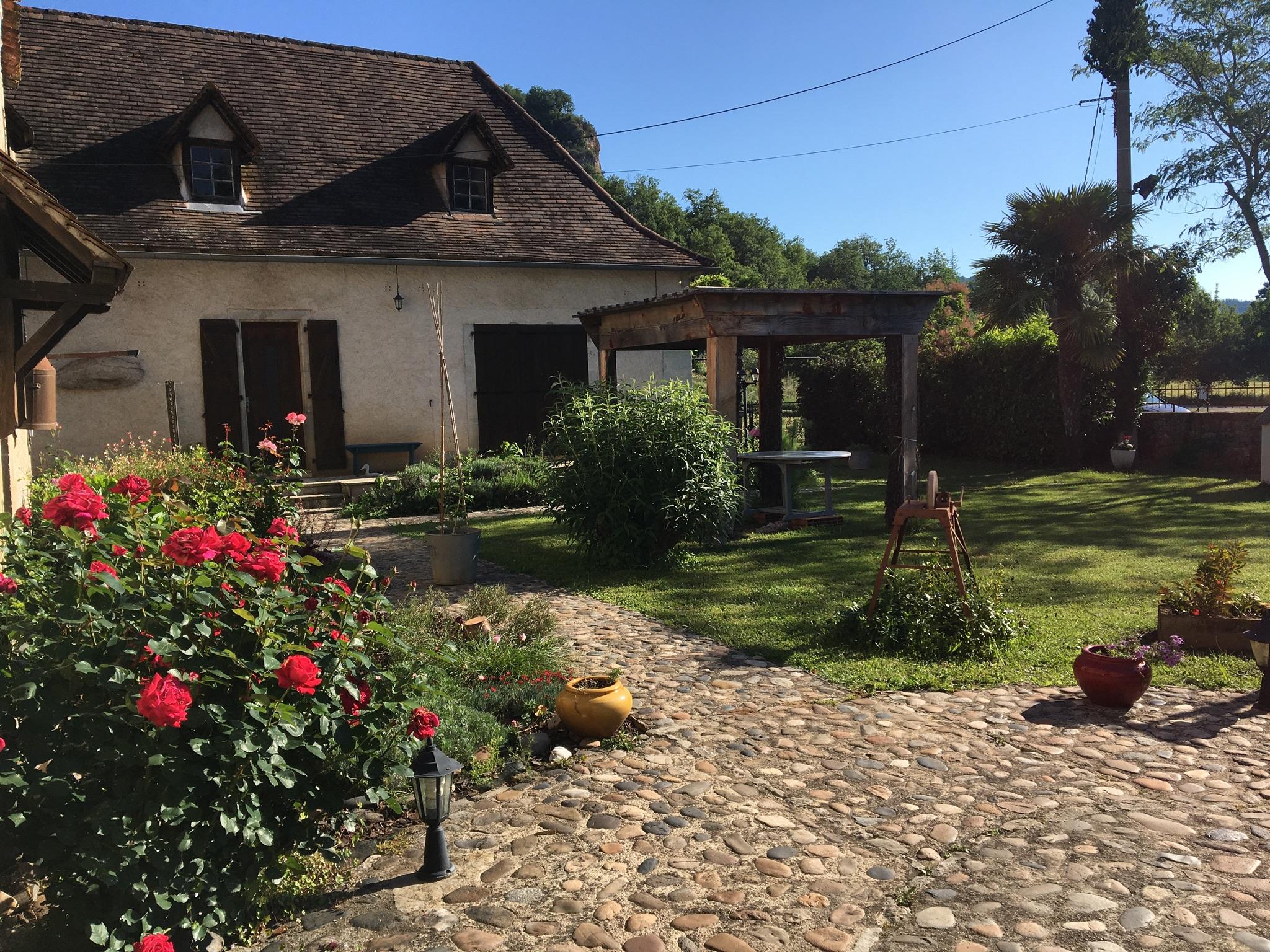 La Fermette et sa terrasse