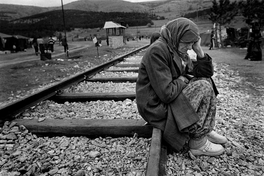 Kosovan refugees. Macedonia (1999). Cristina García Rodero/Magnum Photos