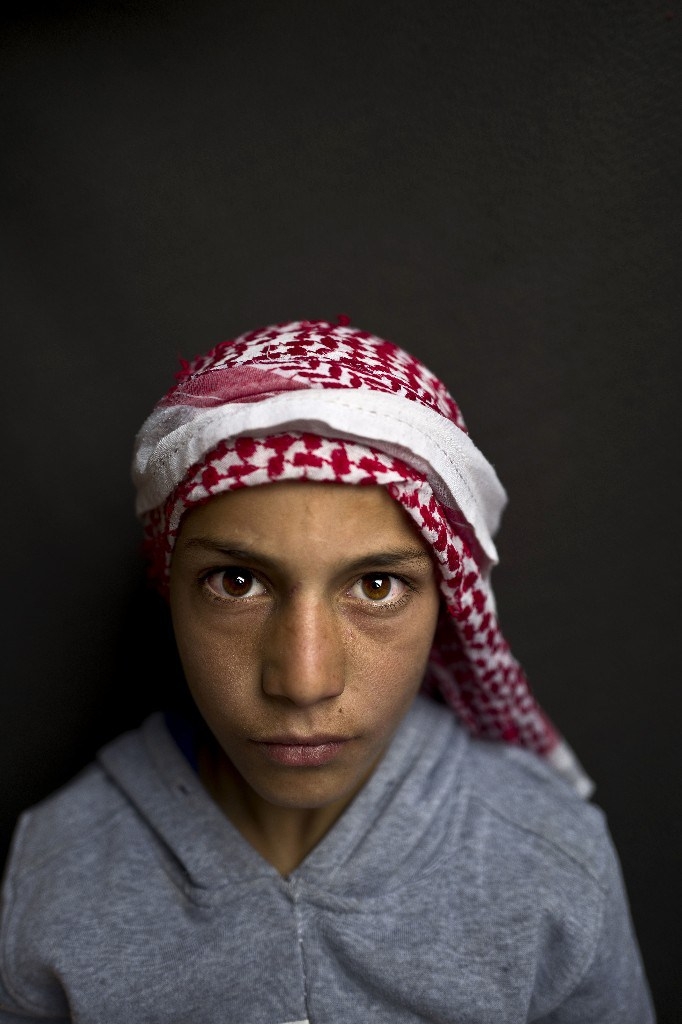 Mohammed Bandar, 12 años. Refugiado sirio. Muhammed Muheisen