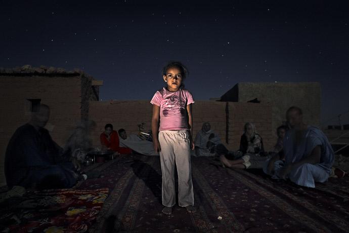 Chrifa Mohammed Salem en el campo de refugiados de Auserd, Argelia (2009). Andrew McConell/Médicos del Mundo