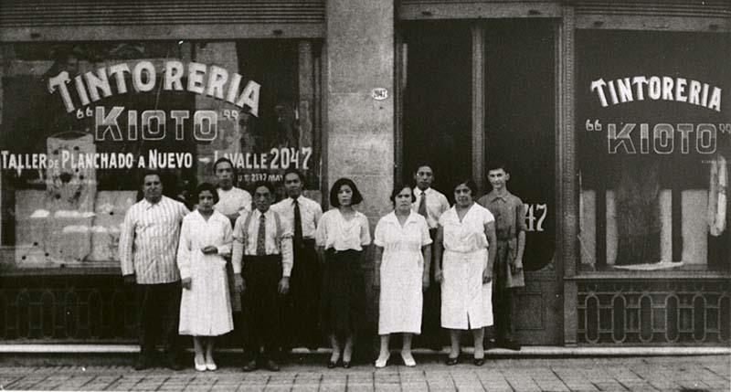 """El dueño del lavaseco """"Kioto"""", ubicado en Lavalle 2047 de Buenos Aires, llegó a Argentina en 1914"""