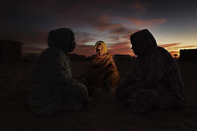 Talvia Mahfud Aida en el campo de refugiados de Dakhla, Argelia (2009). Andrew McConell/Médicos del Mundo