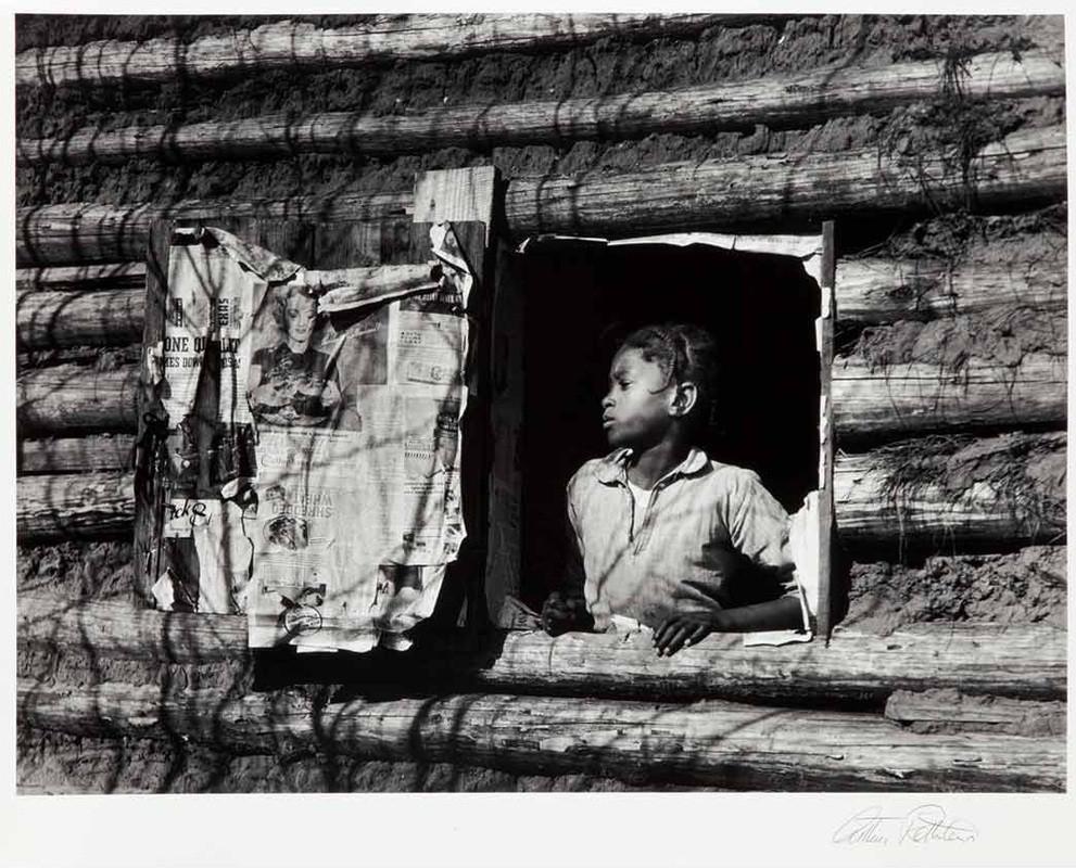 Aletia Bendolph, Gee's Bend, Alabama (1937). Arthur Rothstein