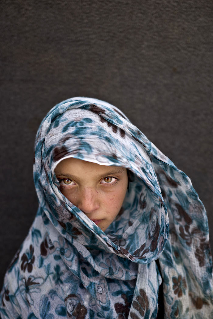 Amna Zughayar, 9 años. Refugiada siria. Muhammed Muheisen