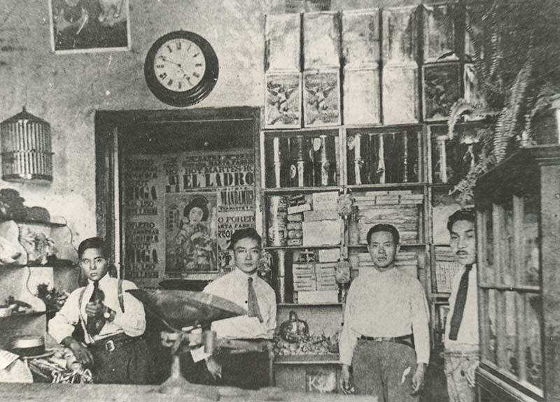 Tienda de Monhachi Hara en Lima, Perú (aprox. 1920)