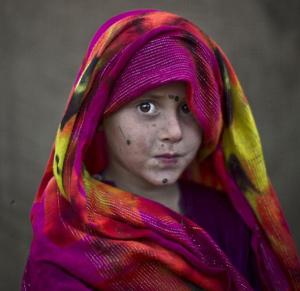 Robina Haseeb, 5 años. Refugiada afgana. Muhammed Muheisen