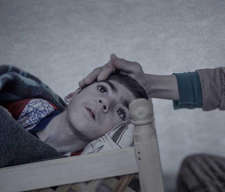 Shiraz, 9 años, Suruc (2016). Magnus Wennman