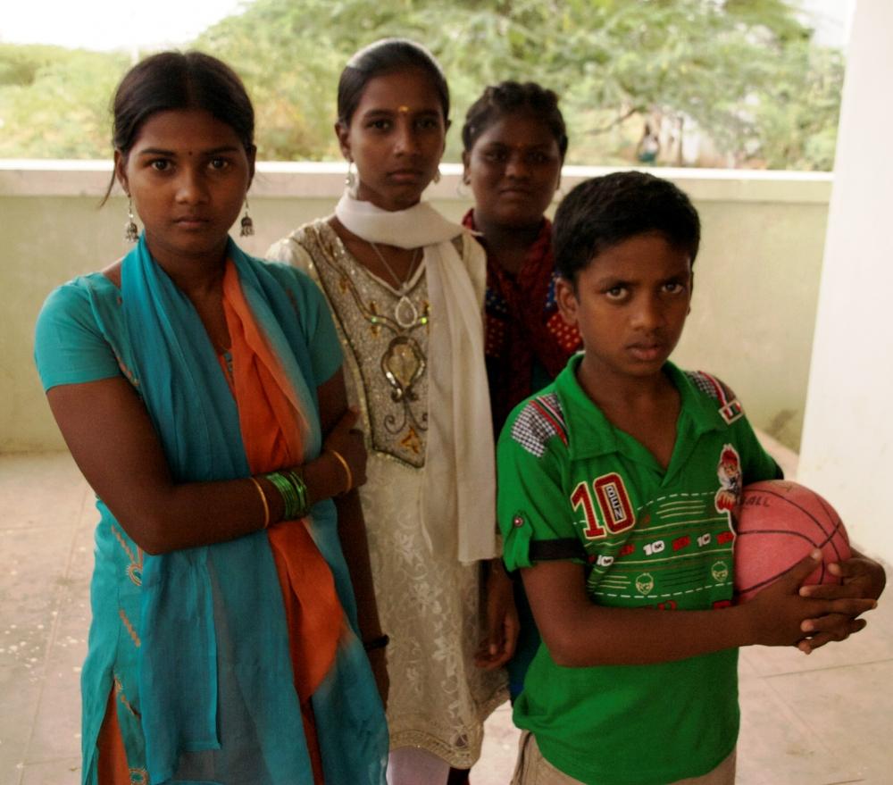 Grupo de refugiados tamiles en Tamil Nadu, sur de la India (2012). Amelia Shepherd-Smith/IRIN