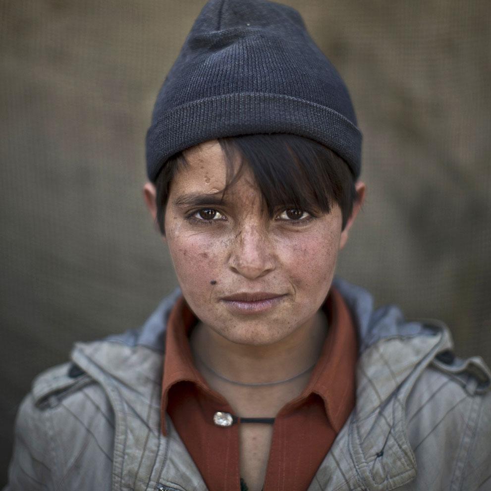 Abdulrahman Bahadir, 13 años. Refugiada afgana. Muhammed Muheisen