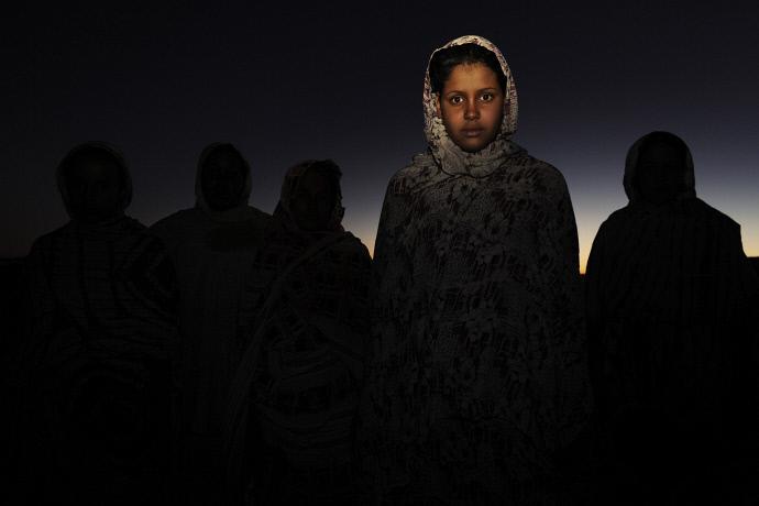 Munaia Nami en el campo de refugiados de Dakhla, Argelia (2009). Andrew McConell/Médicos del Mundo