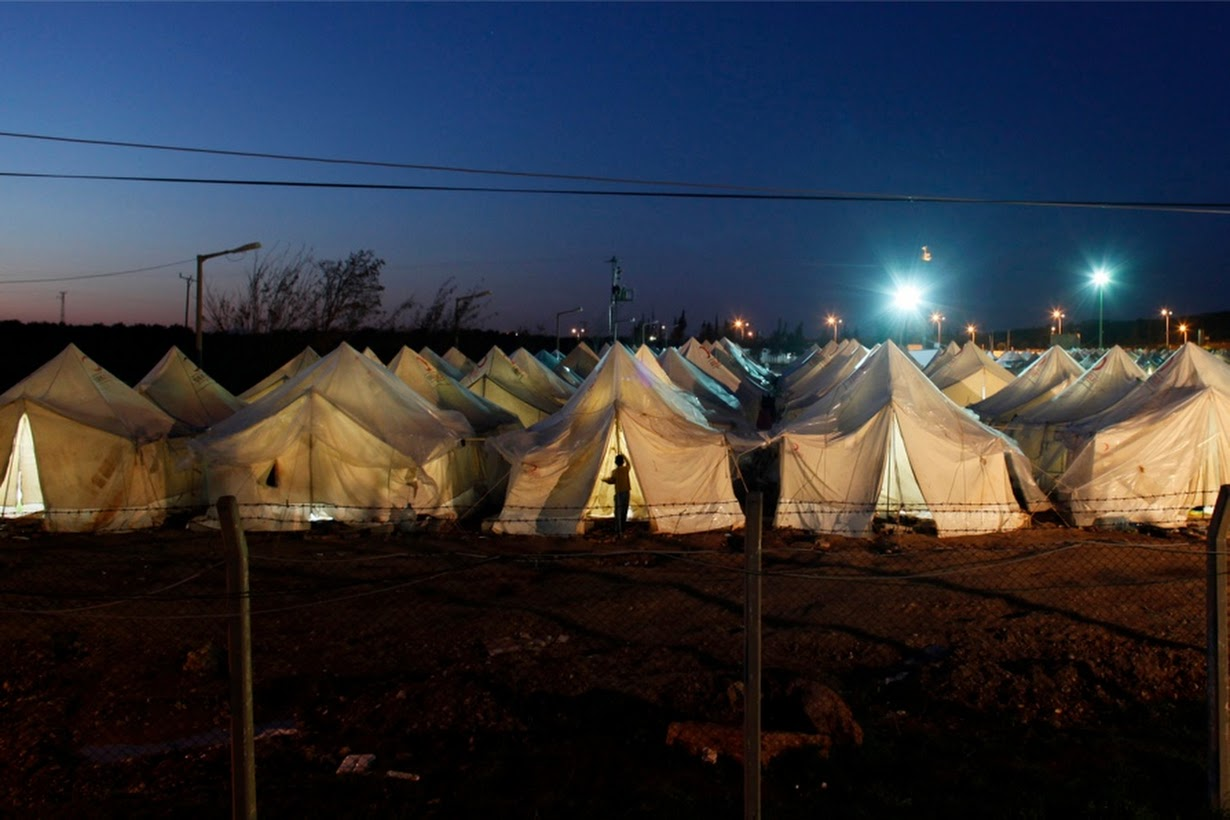 Refugiados alojados en un campamento de Hatay, Turquía (2012). Murad Sezer/Reuters