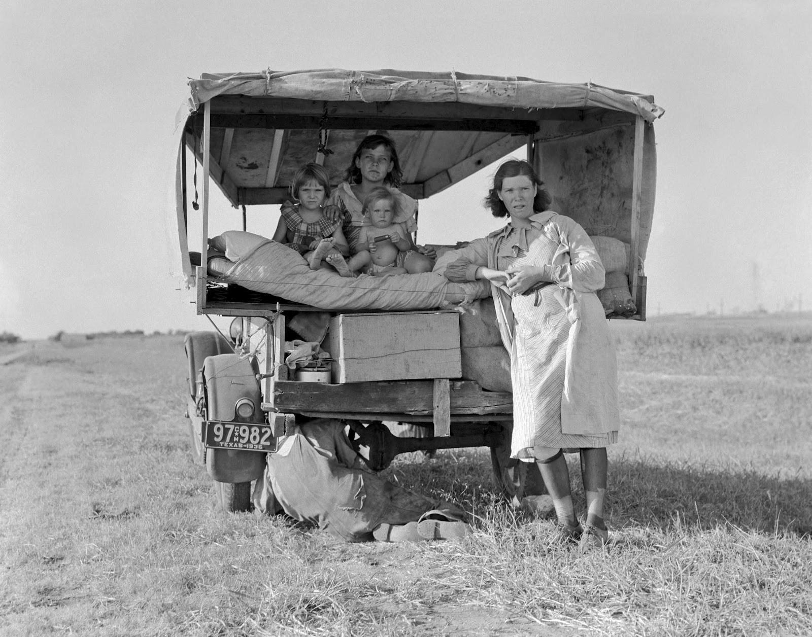 Flat Broke (1936). Dorothea Lange