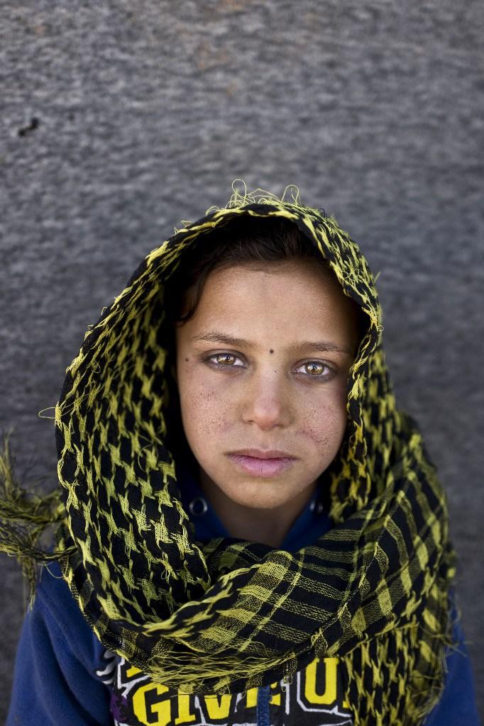 Mayada Hammid, 8 años. Refugiada siria. Muhammed Muheisen