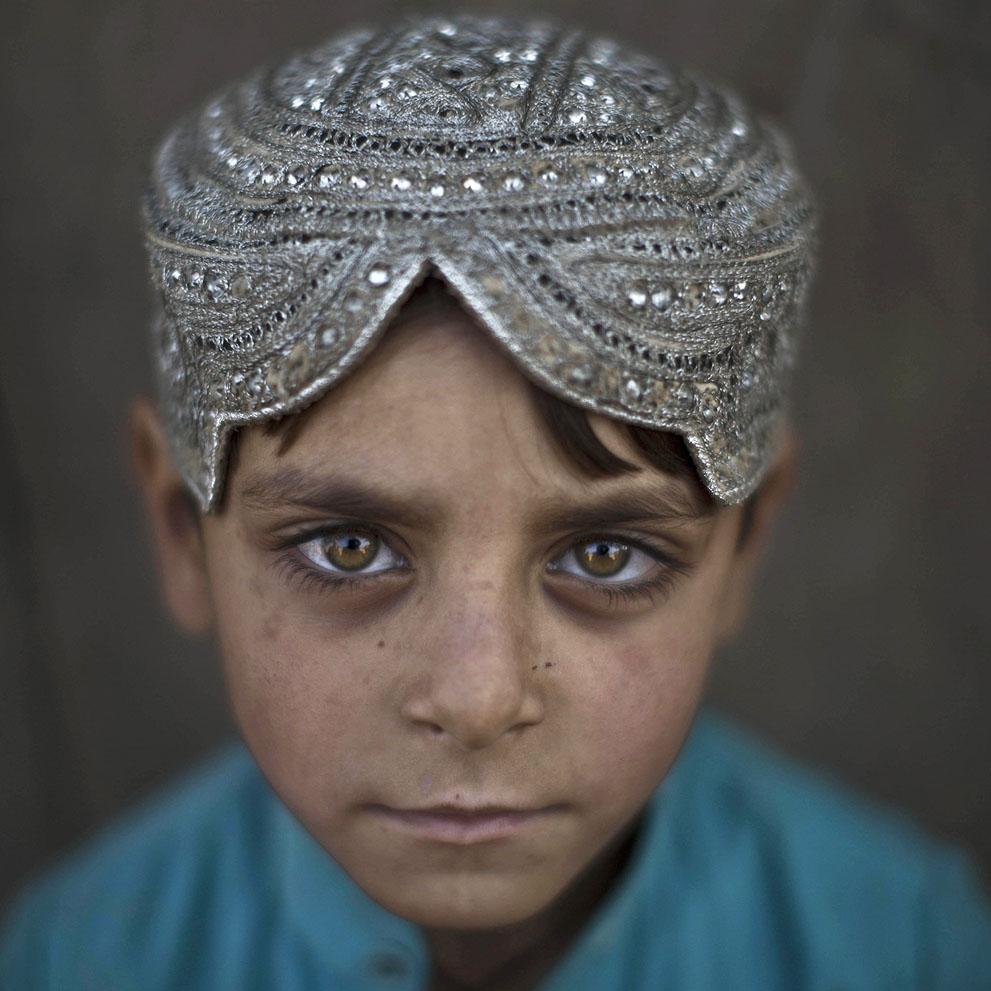 Hasant Mohammed, 5 años. Refugiado afgano. Muhammed Muheisen