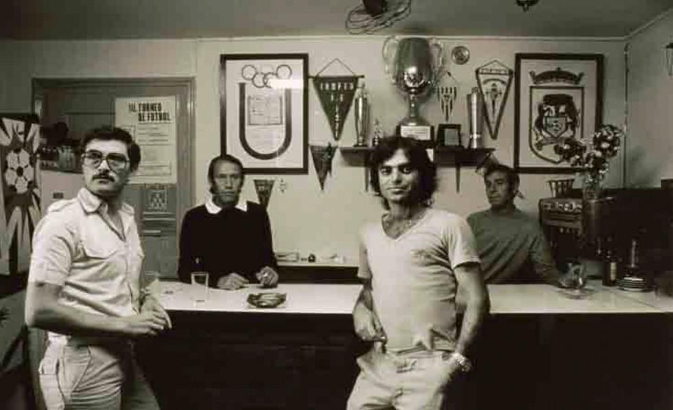 """Pasando la tarde en el club """"Miguel de Unamuno"""". Zurich (1976)"""