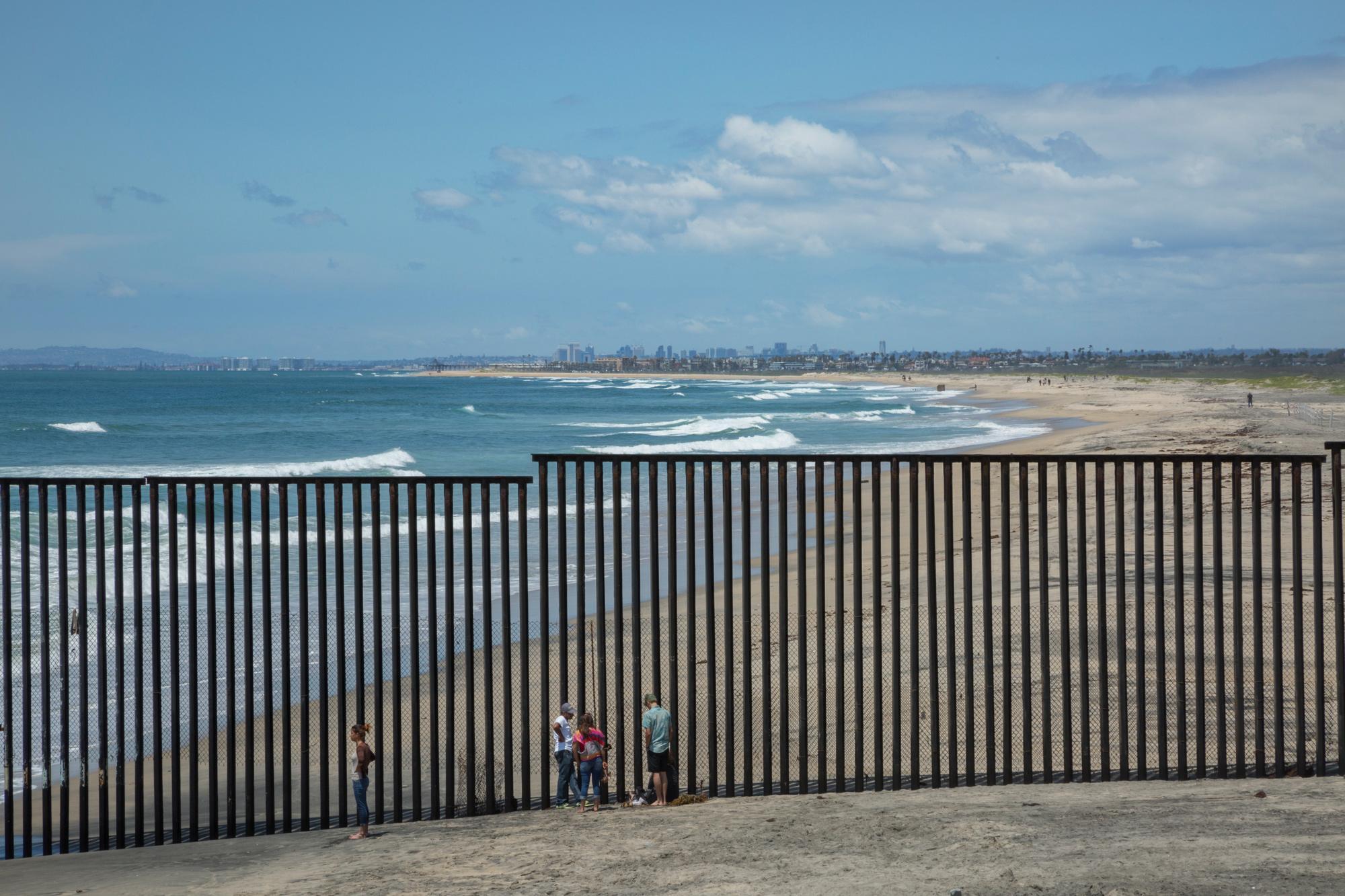Así se ve la ciudad estadounidense de San Diego desde Tijuana, en México