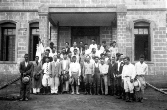 Grupo de inmigrantes japoneses en Paraguay (1938)