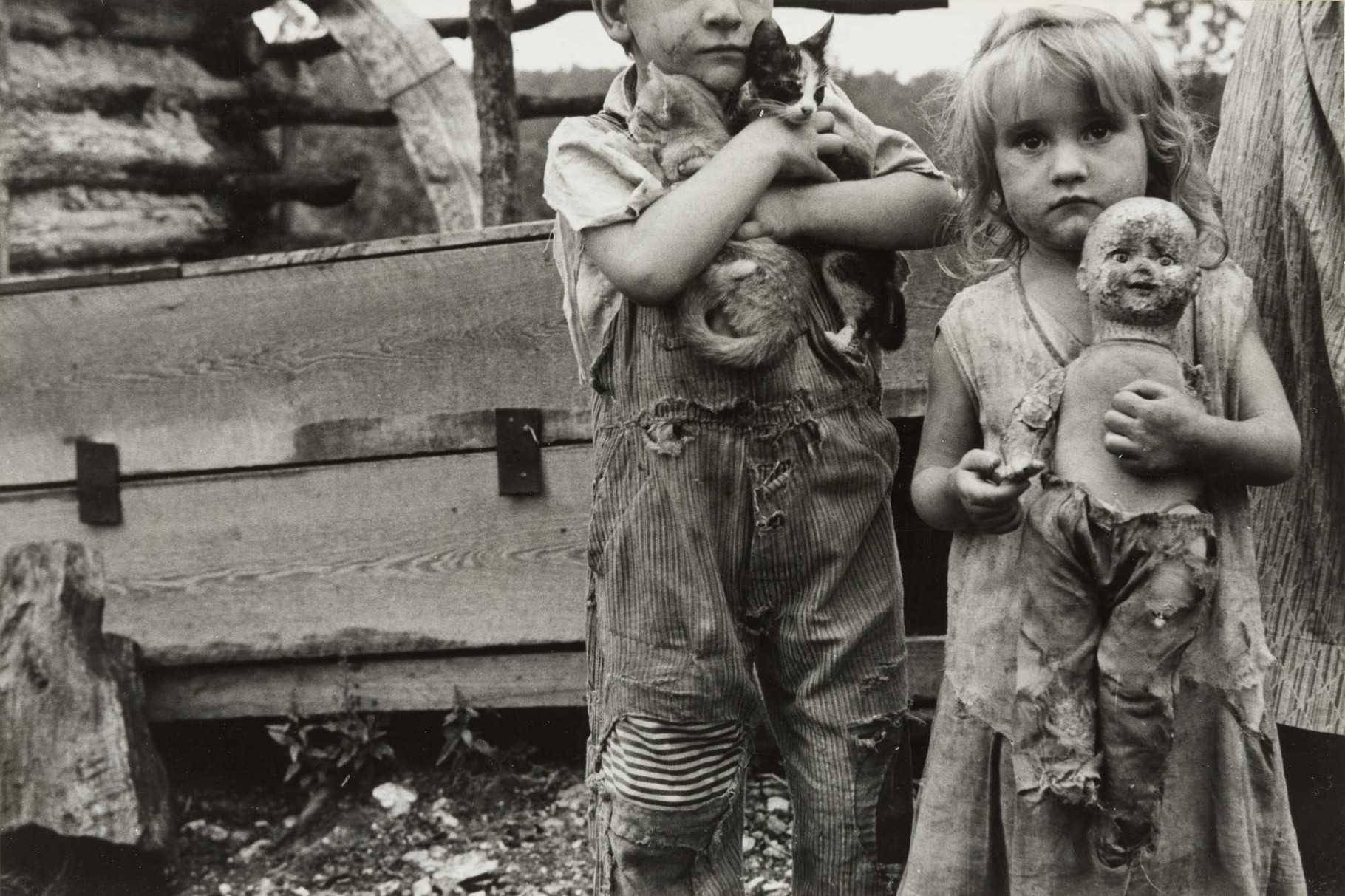 Children of Destitute Mountaineer, Arkansas (1935). Ben Shahn